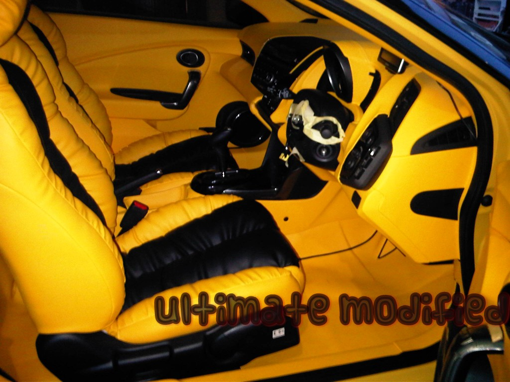 Dashboard full interior mobil CR-Z